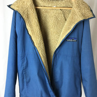 RARE Big Label Patagonia Sherpa Lined Parka