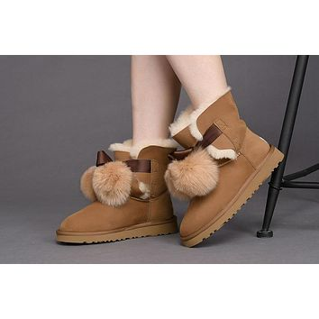 Best Deal Online UGG Limited Edition Classics Boots GITA Women Shoes CHESTNUT 1018517