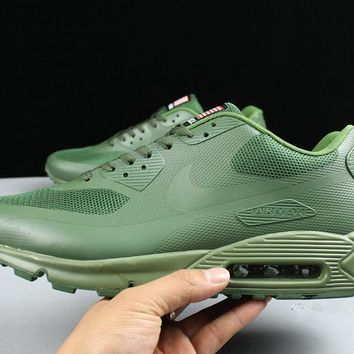 Nike Air Max 90 Flag Amy Green Men Running Sneaker