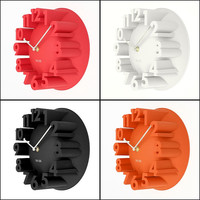 Best Promotion 4 Colors Excellent 3D Home Decor Fashion Modern Art Decorative Dome Round Wall Clock Watch Bell Best Price