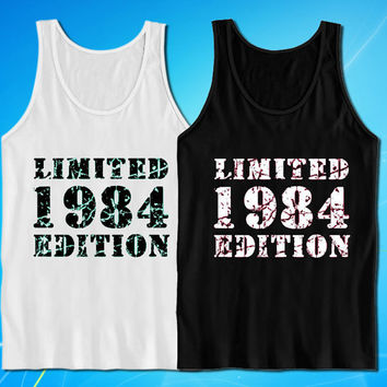 1984 Limited Edition 40th Birthday Husband Wife Boyfriend Girlfriend tank top for mens and womens
