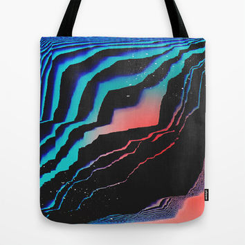 Wavy Tote Bag by DuckyB (Brandi)