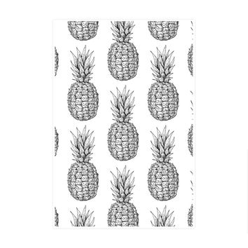 I Love Pineapple Art Print