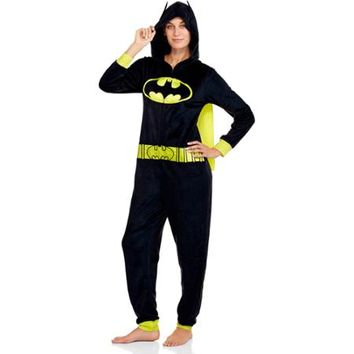 Batman Women's One Piece Pajamas (Sizes XS-4X) - Walmart.com