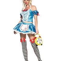 Fantasy Alice In Wonderland Costume | Sexy Clothes Womens Sexy Dresses Sexy Clubwear Sexy Swimwear | Flirt Catalog