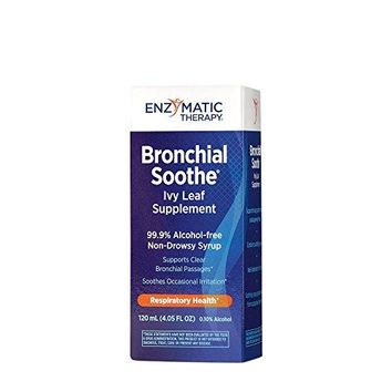 Enzymatic Therapy Bronchial Soothe 120 Milliliter (4.05 FL Ounces) Syrup. Pack of 1.