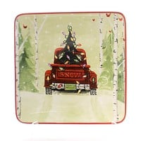 Tabletop Christmas Vacation Dessert Plate