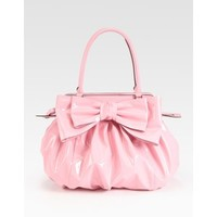Valentino Lacca Patent Leather Top Handle Bag