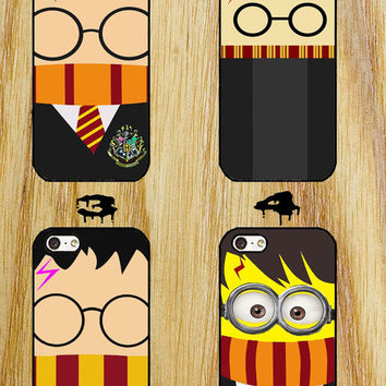 harry potter inspired iPhone 4/4S/5/5S/5C/6 Samsung Galaxy S3/S4/S5 custom case