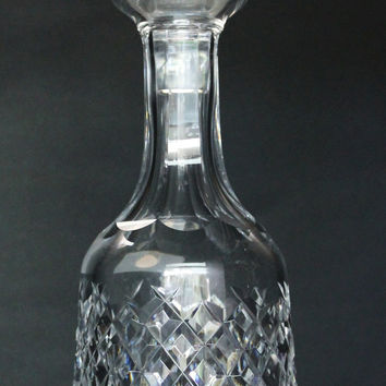 Alana Decanter Signed Waterford