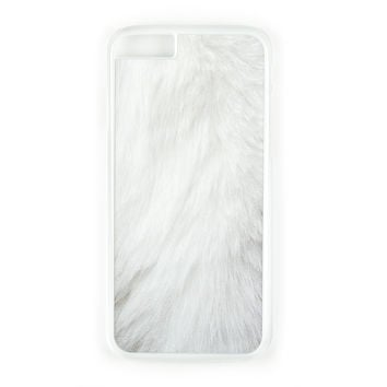 White Fur Case