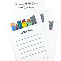 Moving Change of Address Postcards - New Address Set of Cards