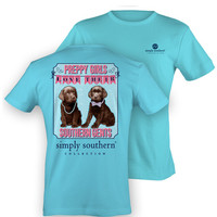 Simply Southern Southern Gents Tee - Blue