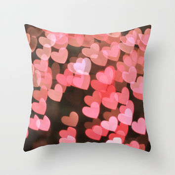 Lovestruck Throw Pillow by Lisa Argyropoulos