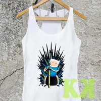 jake game of thrones adventure time-Tank Top