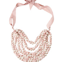 Adele Marie | Adele Marie Multi Row Pearl Necklace at ASOS