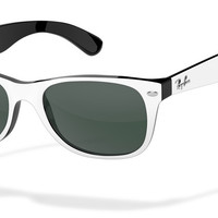 Look who's looking at this new Ray-Ban new wayfarer sunglasses