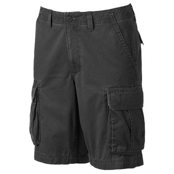 SONOMA life + style Solid Twill Cargo Shorts