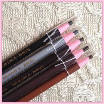 Thinkboo Eyebrow Pencil Enhancer Waterproof Tattoo Accessories Pulling Eyebrow Pencil Black Eyebrows Pen  Pulling Eyebrow pencil