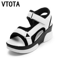 VTOTA Fashion Women Sandals High Quality Shoes Open Toe Sandals Wedges Platform Women's Shoes Sandals Casual Shoes Women X404