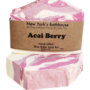 Acai Berry Shea Butter Soap Bar