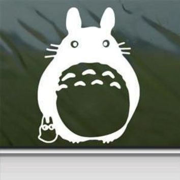Totoro Anime Sticker Decal Ghibli Laputa Jdm Car Window Wall Macbook Notebook Laptop