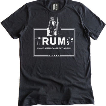 Rum Make America Great Again Premium Dual Blend T-Shirt