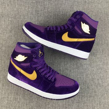 Air jordan 1 sports shoes size 36-45