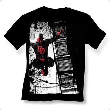 Daredevil Dare To Escape Mens T-Shirt