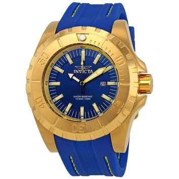 Invicta Pro Diver Blue Dial Mens Watch 23736