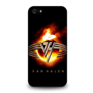 EDDIE VAN HALEN LOGO iPhone 5 / 5S / SE Case Cover