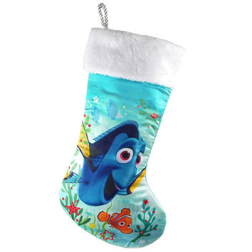 Disney Finding Dory Light-It-Up Christmas Stocking, Aqua, 18-Inch