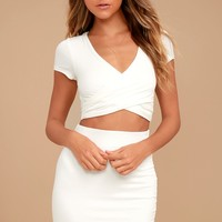 By Your Side Ivory Two-Piece Dress