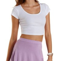 Ribbed Crop Top by Charlotte Russe