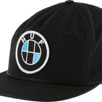 HUF Bavaria Taslan Snap Back Hat - black - Men's Clothing > Hats & Beanies > Hats > Snapback Hats