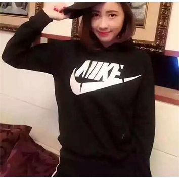 Nike Women Fashion Casual Long Sleeve Top Sweater Hoodie