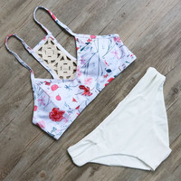 Floral Bikini Set Sexy Swimwear Women Summer Style Beach Bathing Suit
