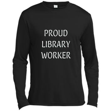 Proud Library Worker T Shirt