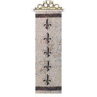 Fleur De Lis Bell Pull Tapestry Wall Hanging