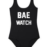 BAE WATCH BODYSUIT SWIMSUIT SUMMER BIKINI BAY LIFEGUARD – Minga London