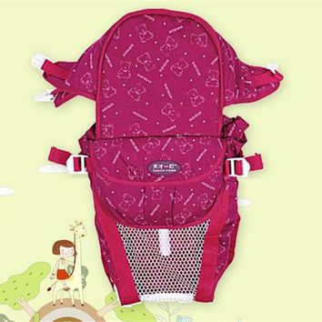 Toddler Backpack class Multifunction baby sling padded shoulder straps infant breathable backpack Baby Carriage Toddler Child Sling Wrap Suspenders D2 AT_50_3