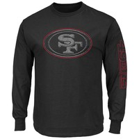 Majestic San Francisco 49ers Up and Over Tee