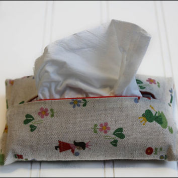 Froggy Fairytale Tissue Cozy