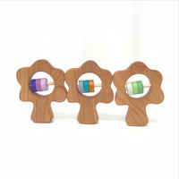 Toy Tuesday Tree Wooden Baby Rattle - Limited Edition