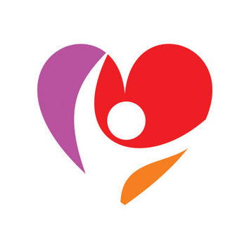 Love Person Heart Beat Logo Design Vector for Your Future Business
