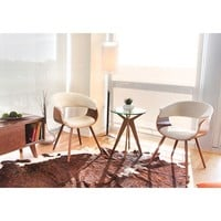 Vintage Mod Mid-Century Accent/ Dining Chair | Overstock.com Shopping - The Best Deals on Dining Chairs