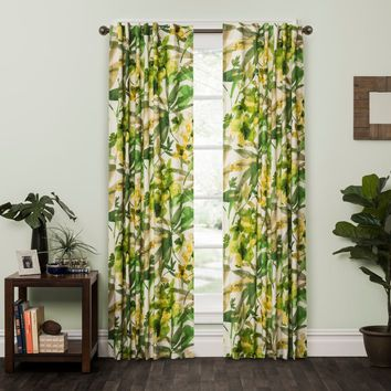 Bora Bora Natural Rod Pocket Curtain Panel | Overstock.com Shopping - The Best Deals on Curtains