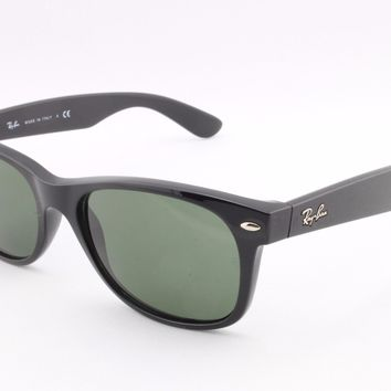 Ray Ban New Wayfarer RB2132 901L G15 55mm Sunglasses Authentic Made In Italy