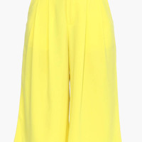 High Waisted Chiffon Wide Pants