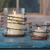 Barbwire Candle Holder - Candles - Home Decor - Home